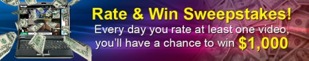Rate & Win Sweeptakes
